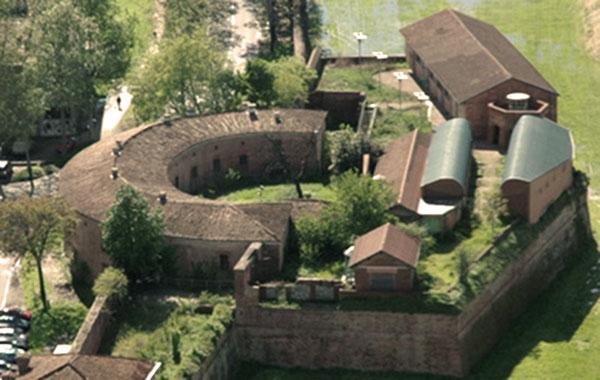 Bastioni di Porta Borghetto a Piacenza