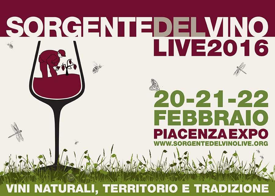 Sorgentedelvino LIVE 2016, tornano i vignaioli naturali a Piacenza